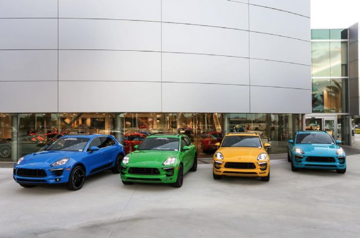 Colorful Macans Porsche Macan Forums