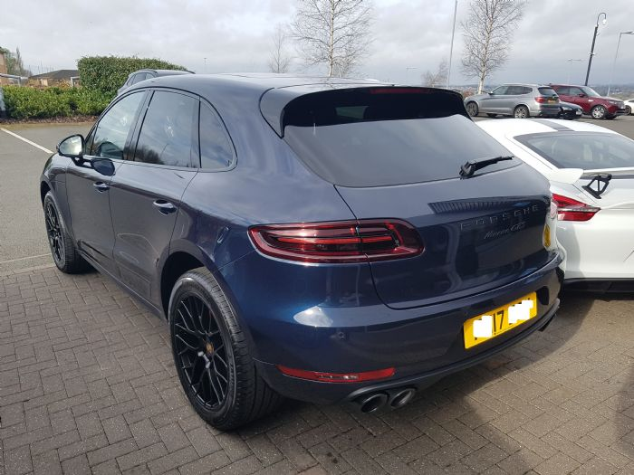 collected my night blue gts today porsche macan forums. Black Bedroom Furniture Sets. Home Design Ideas